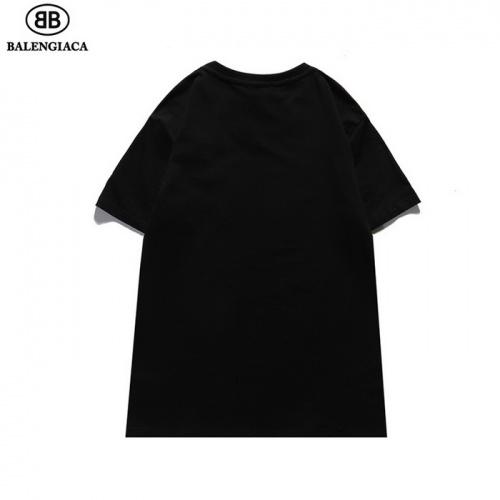 Replica Balenciaga T-Shirts Short Sleeved For Men #839433 $27.00 USD for Wholesale