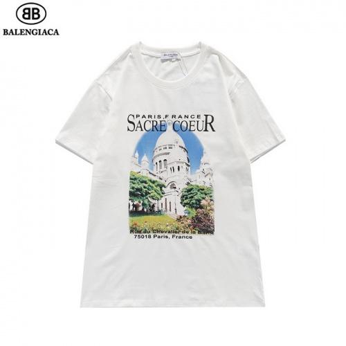 Balenciaga T-Shirts Short Sleeved For Men #839434 $27.00, Wholesale Replica Balenciaga T-Shirts