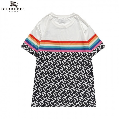 Replica Burberry T-Shirts Short Sleeved For Men #839435 $27.00 USD for Wholesale