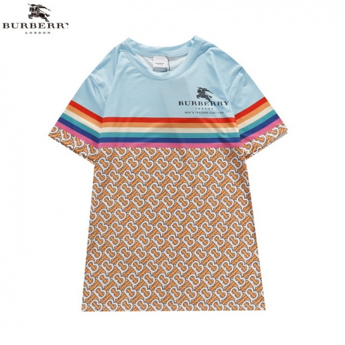Burberry T-Shirts Short Sleeved For Men #839436 $27.00 USD, Wholesale Replica Burberry T-Shirts
