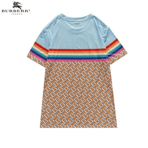 Replica Burberry T-Shirts Short Sleeved For Men #839436 $27.00 USD for Wholesale
