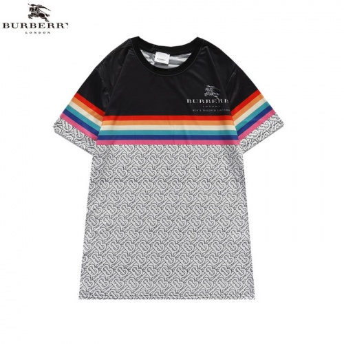 Burberry T-Shirts Short Sleeved For Men #839437 $27.00 USD, Wholesale Replica Burberry T-Shirts