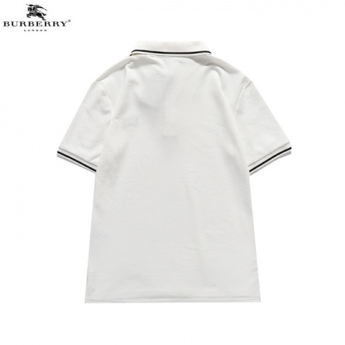 Replica Burberry T-Shirts Short Sleeved For Men #839438 $34.00 USD for Wholesale
