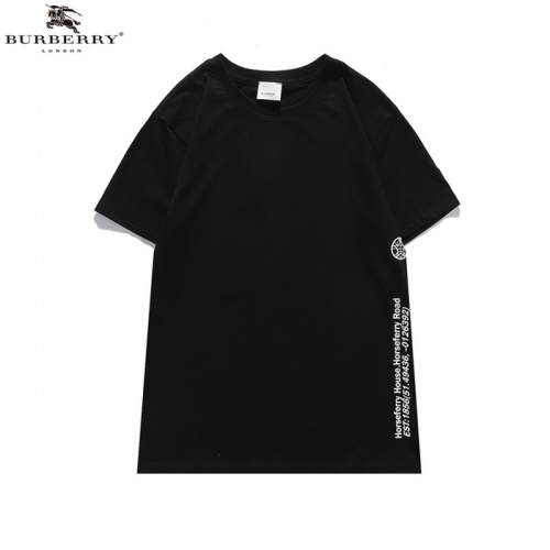 Replica Burberry T-Shirts Short Sleeved For Men #839442 $25.00 USD for Wholesale