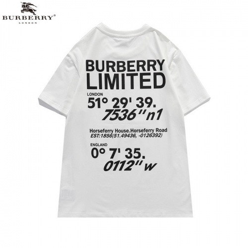 Burberry T-Shirts Short Sleeved For Men #839443 $25.00 USD, Wholesale Replica Burberry T-Shirts