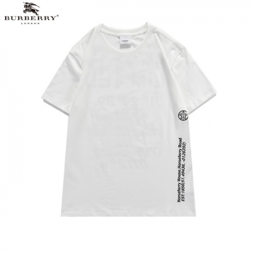 Replica Burberry T-Shirts Short Sleeved For Men #839443 $25.00 USD for Wholesale