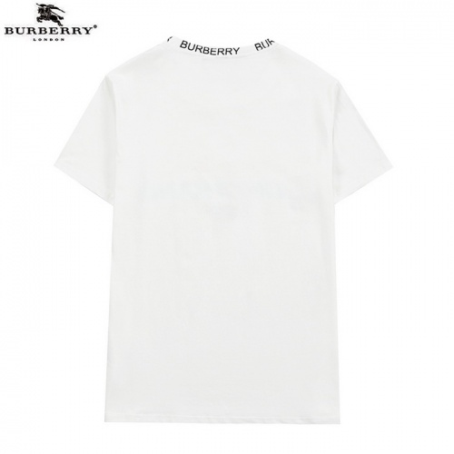 Replica Burberry T-Shirts Short Sleeved For Men #839446 $27.00 USD for Wholesale