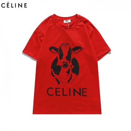 Celine T-Shirts Short Sleeved For Men #839450
