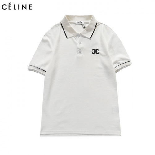 Celine T-Shirts Short Sleeved For Men #839451