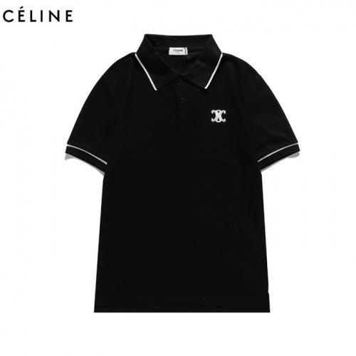 Celine T-Shirts Short Sleeved For Men #839452