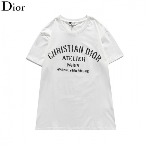 Christian Dior T-Shirts Short Sleeved For Men #839478