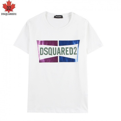 Dsquared T-Shirts Short Sleeved For Men #839484 $27.00, Wholesale Replica Dsquared T-Shirts
