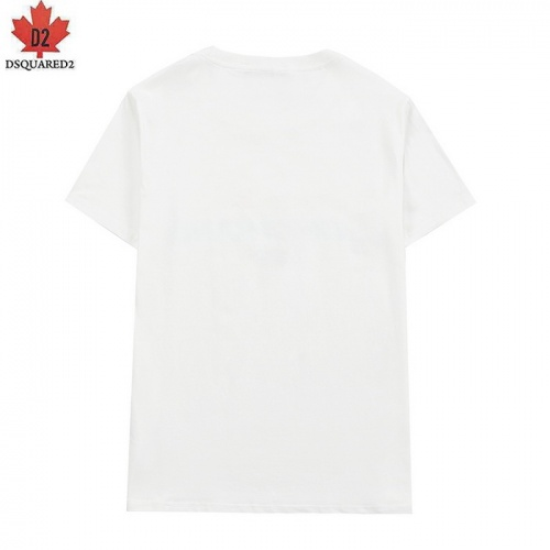 Replica Dsquared T-Shirts Short Sleeved For Men #839484 $27.00 USD for Wholesale
