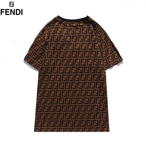 Replica Fendi T-Shirts Short Sleeved For Men #839485 $29.00 USD for Wholesale