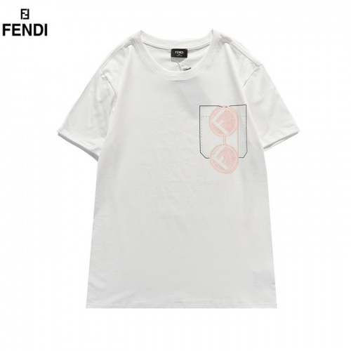 Fendi T-Shirts Short Sleeved For Men #839486