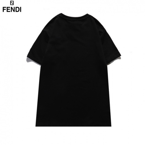 Replica Fendi T-Shirts Short Sleeved For Men #839488 $29.00 USD for Wholesale