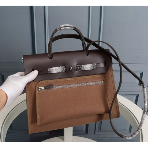 Replica Hermes AAA Quality Handbags For Women #839537 $170.00 USD for Wholesale