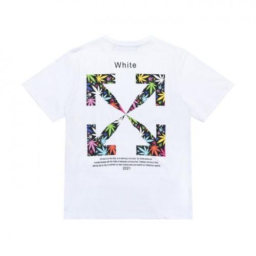 Off-White T-Shirts Short Sleeved For Men #839544