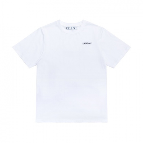 Replica Off-White T-Shirts Short Sleeved For Men #839554 $27.00 USD for Wholesale
