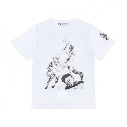 Off-White T-Shirts Short Sleeved For Men #839558