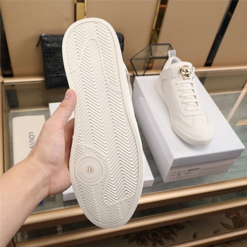 Replica Versace Casual Shoes For Men #839573 $82.00 USD for Wholesale