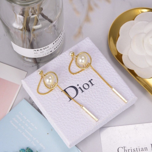 Christian Dior Earrings #839591 $29.00, Wholesale Replica Christian Dior Earrings