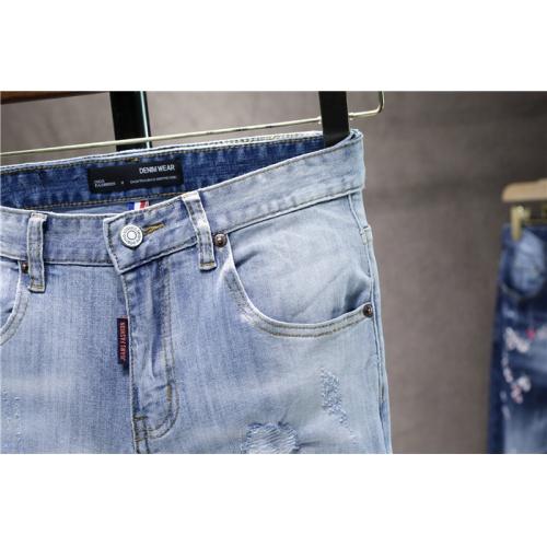 Replica Dsquared Jeans For Men #839623 $50.00 USD for Wholesale