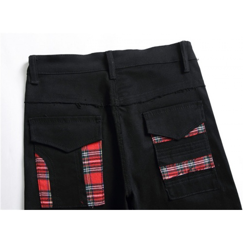 Replica Burberry Jeans For Men #839631 $50.00 USD for Wholesale