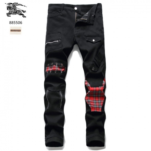 Burberry Jeans For Men #839632 $50.00 USD, Wholesale Replica Burberry Jeans
