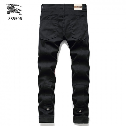 Replica Burberry Jeans For Men #839632 $50.00 USD for Wholesale