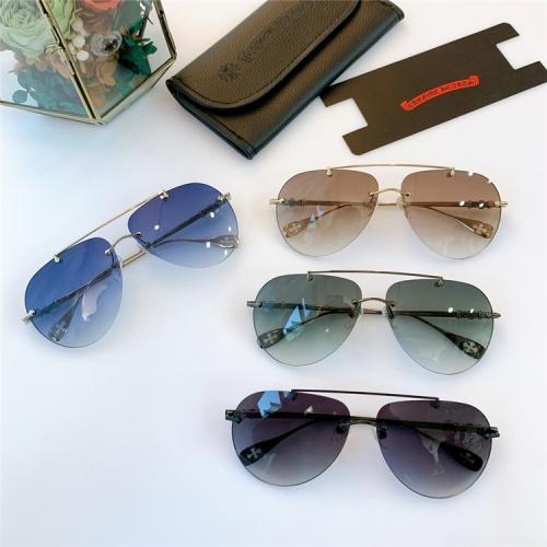 Replica Chrome Hearts AAA Quality Sunglasses #839638 $56.00 USD for Wholesale