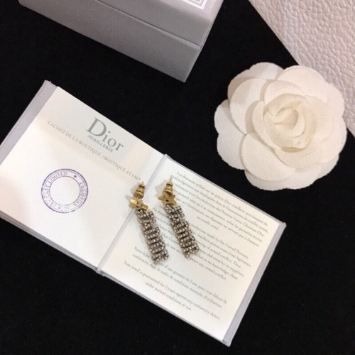 Christian Dior Earrings #839761 $29.00, Wholesale Replica Christian Dior Earrings
