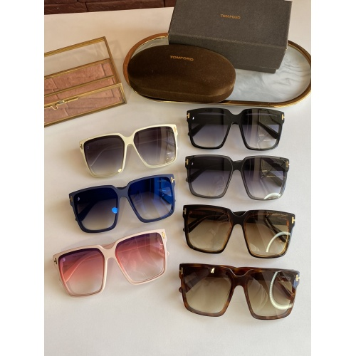 Replica Tom Ford AAA Quality Sunglasses #839824 $56.00 USD for Wholesale