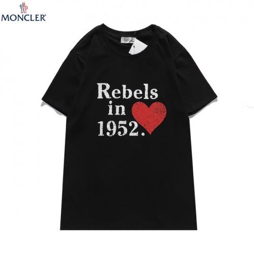 Moncler T-Shirts Short Sleeved For Men #839836