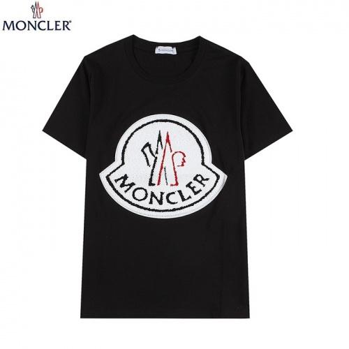 Moncler T-Shirts Short Sleeved For Men #839841