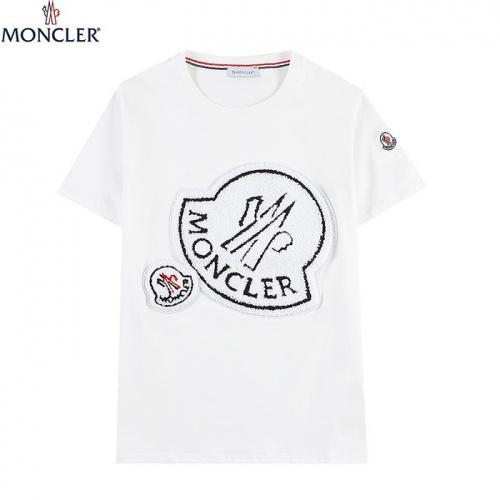 Moncler T-Shirts Short Sleeved For Men #839843