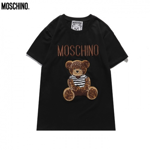 Moschino T-Shirts Short Sleeved For Men #839853
