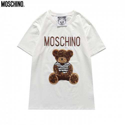 Moschino T-Shirts Short Sleeved For Men #839854