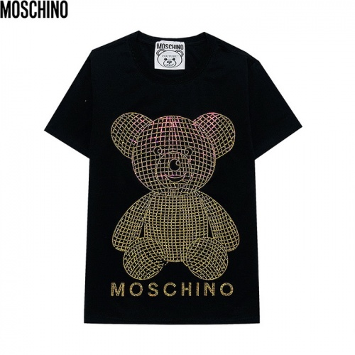Moschino T-Shirts Short Sleeved For Men #839855 $29.00 USD, Wholesale Replica Moschino T-Shirts