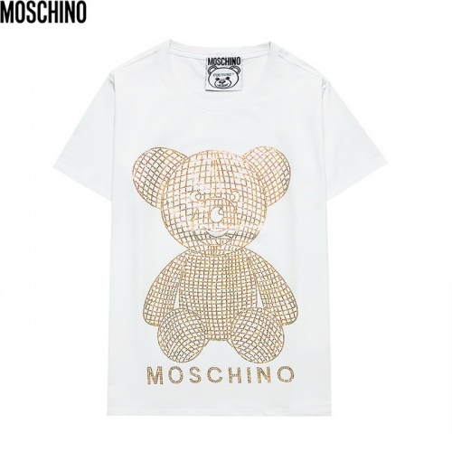 Moschino T-Shirts Short Sleeved For Men #839856