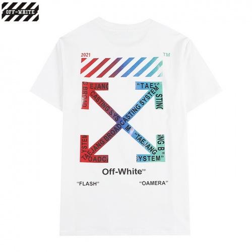 Off-White T-Shirts Short Sleeved For Men #839862