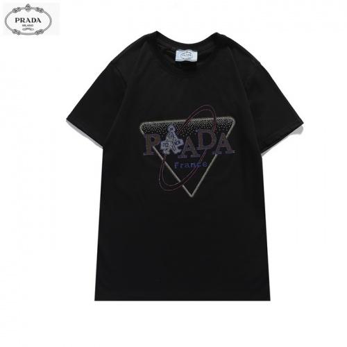 Prada T-Shirts Short Sleeved For Men #839869