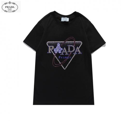 Prada T-Shirts Short Sleeved For Men #839870