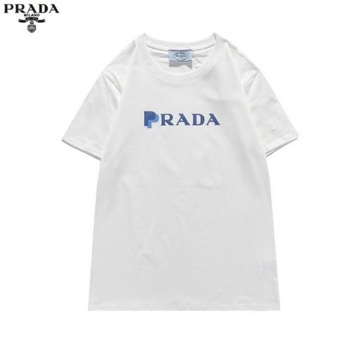 Prada T-Shirts Short Sleeved For Men #839874