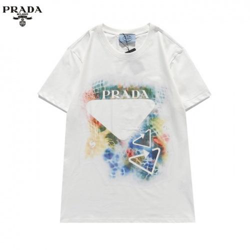 Prada T-Shirts Short Sleeved For Men #839876