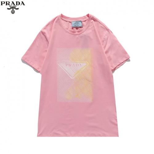 Prada T-Shirts Short Sleeved For Men #839878