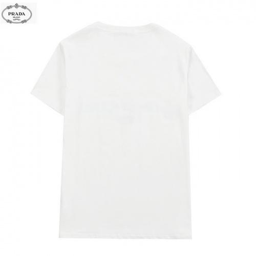Replica Prada T-Shirts Short Sleeved For Men #839880 $27.00 USD for Wholesale