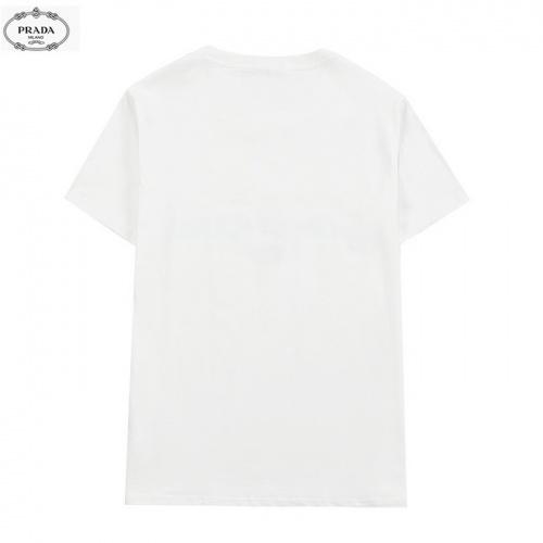 Replica Prada T-Shirts Short Sleeved For Men #839882 $27.00 USD for Wholesale
