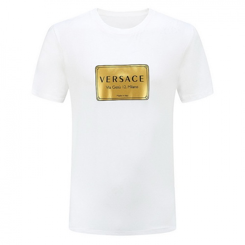 Versace T-Shirts Short Sleeved For Men #839885 $25.00, Wholesale Replica Versace T-Shirts