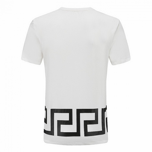 Replica Versace T-Shirts Short Sleeved For Men #839888 $25.00 USD for Wholesale